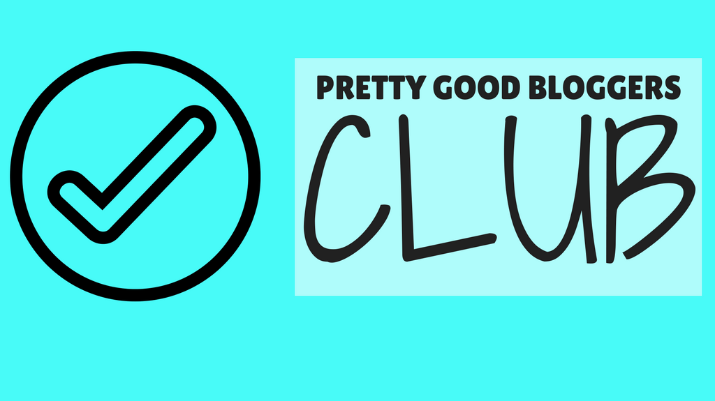 Pretty Good Bloggers Club - Facebook Group