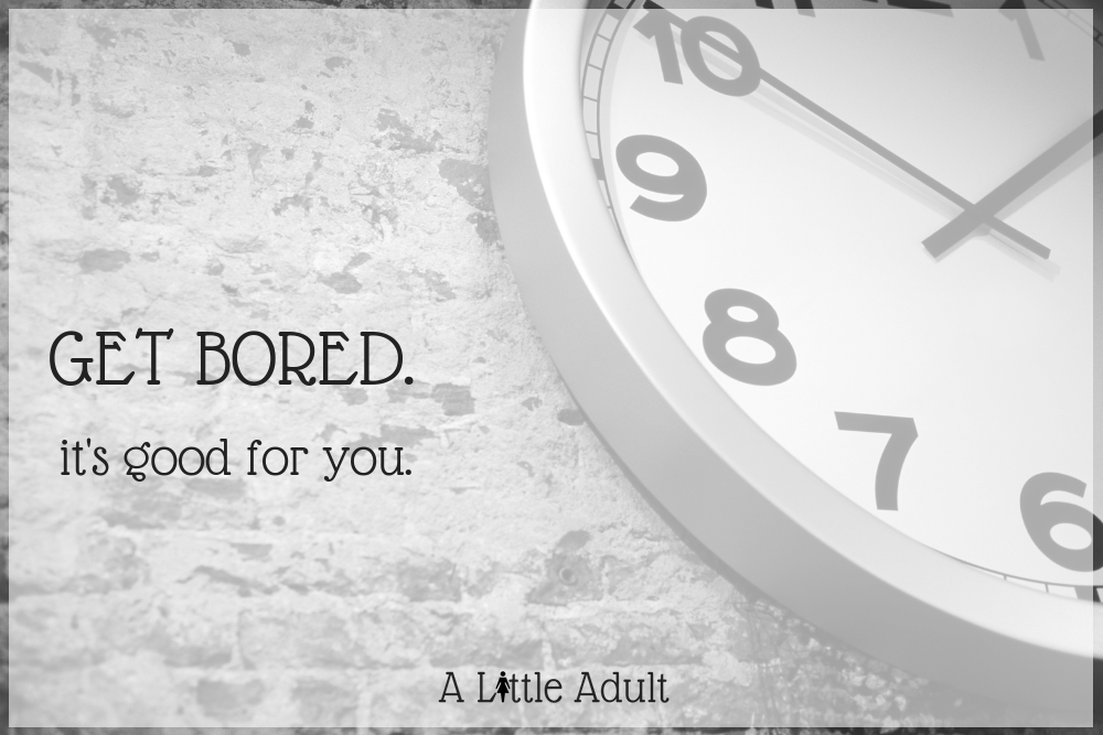 Why I'm Learning To Embrace Boredom