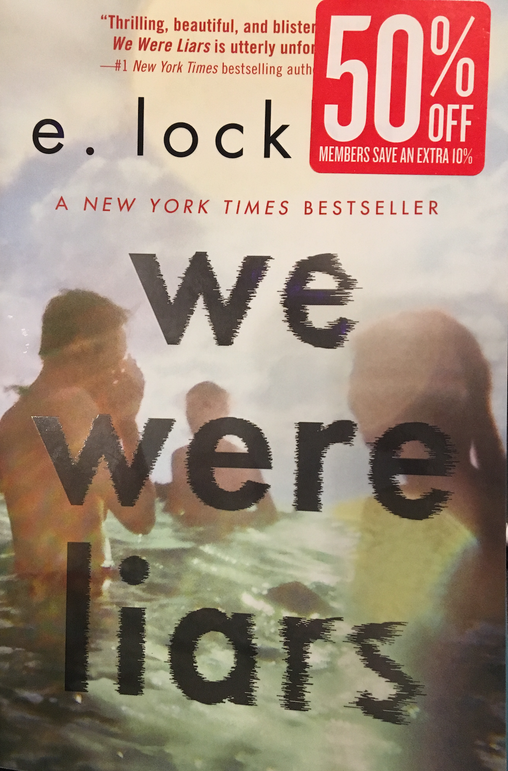 We Were Liars book cover
